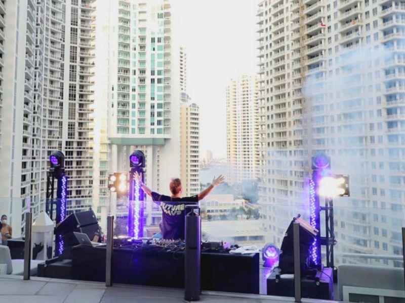 Live de David Guetta em Miami